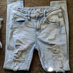 America Eagle Jeans size 6 regular